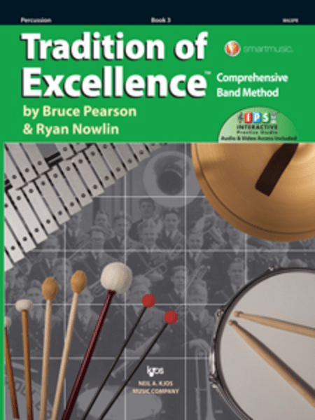 Tradition Of Excellence Book 3 - Percussion