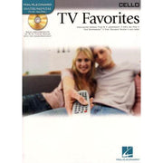 TV Favorites - Cello - Book/CD