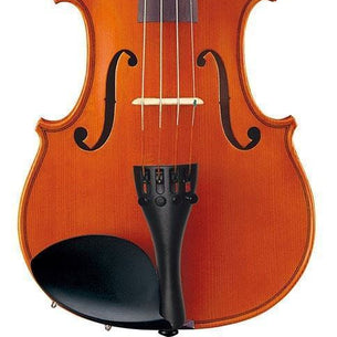 Upgraded Yamaha Acoustic Student Violin Outfit Dominant Strings, Cordura-covered case