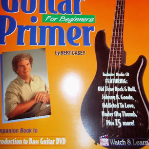 Watch & Learn Bass Guitar | Primer Book