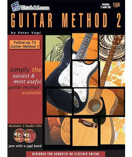 Watch & Learn Guitar Method 2