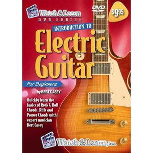 Watch & Learn Introduction To Electric Guitar | DVD