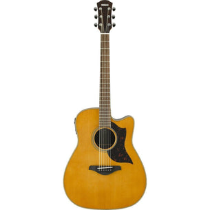Yamaha A1RVN Folk Cutaway Acoustic Electric Guitar - Rosewood - Vintage Natural