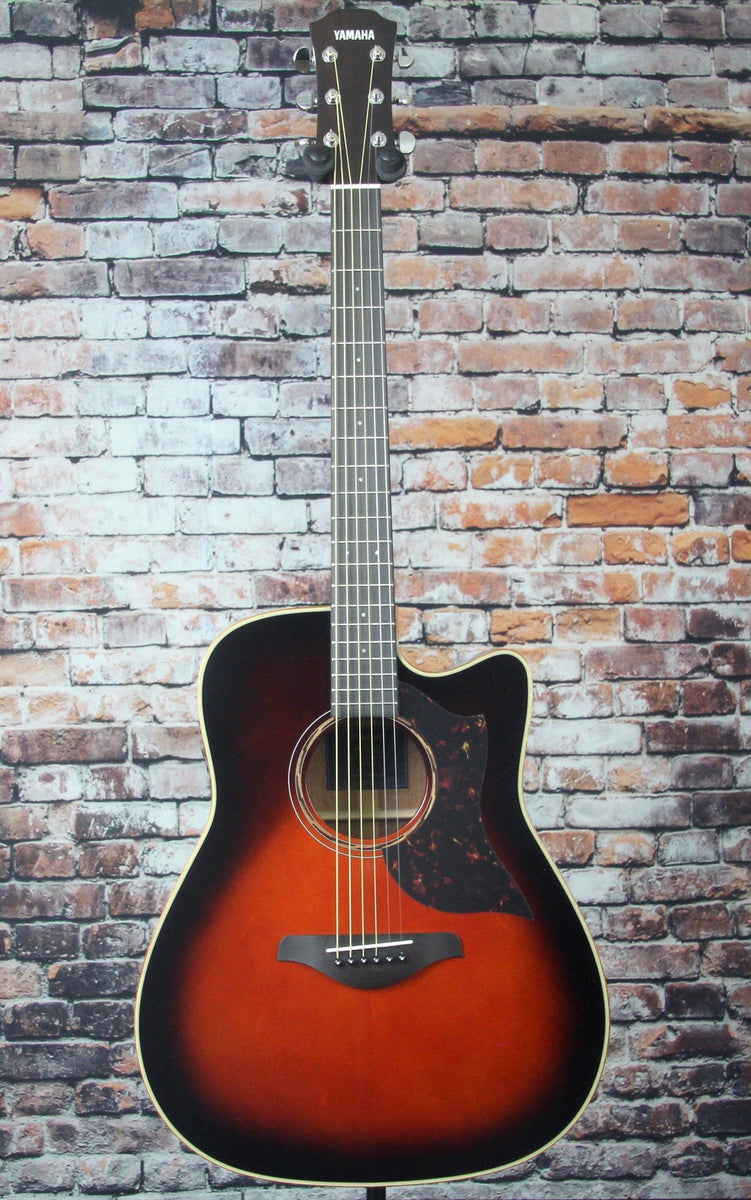 Yamaha A3M ARE Acosutic Electric Guitar | Tobacco Brown Sunburst