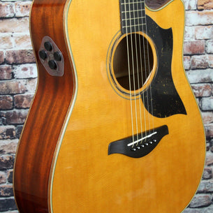 Yamaha A5M ARE Acoustic-Electric Guitar | Vintage Natural