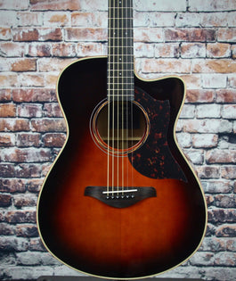 Yamaha AC3M Acoustic-Electric Guitar | Tobacco Brown Sunburst