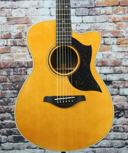 Yamaha AC5M VN Acoustic Electric Guitar | Vintage Natural