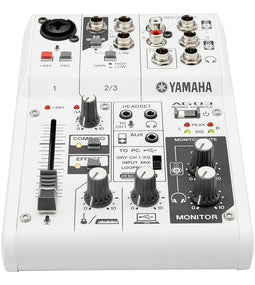 Yamaha AG03 Multi-purpose 3-Channel Mixer