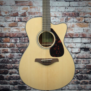 Yamaha FSX800C Natural Acoustic-Electric Guitar | Natural Spruce