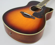 Yamaha FSX820C Small Body Acoustic Electric Guitar
