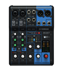 Yamaha MG06X 6-Channel Pro Audio Mixer