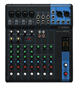 Yamaha MG10 10-Channel Pro Audio Mixing Console