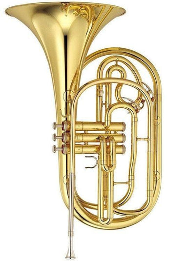 Yamaha YHR-302M Marching Bb French Horn YHR-302M - Base Model