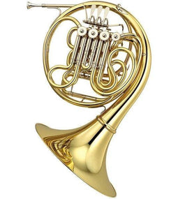 Yamaha YHR-667 Professional Series F / Bb Double French Horn YHR-667D - Detachable Bell and HRC-68 case