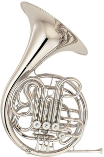 Yamaha YHR-668II Professional Series F / Bb Double French Horn YHR-668NII - Nickel Silver Construction