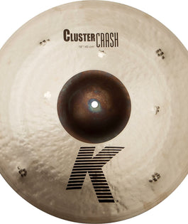 "Zildjian 18"" K Series Cluster Crash"