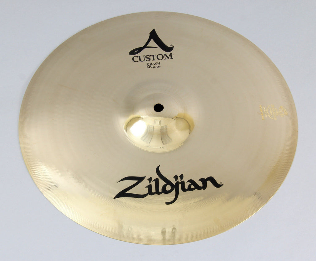 "Zildjian A20525 14"" A Custom Crash Cymbal 