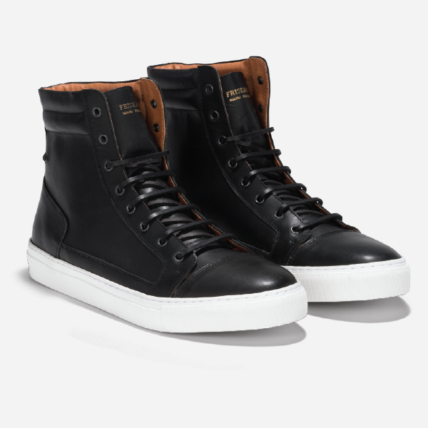 Friseau High Top Sneakers Black