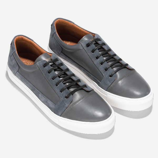 Basket Low Grey