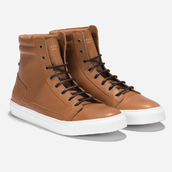 Friseau High Top Sneakers Tan