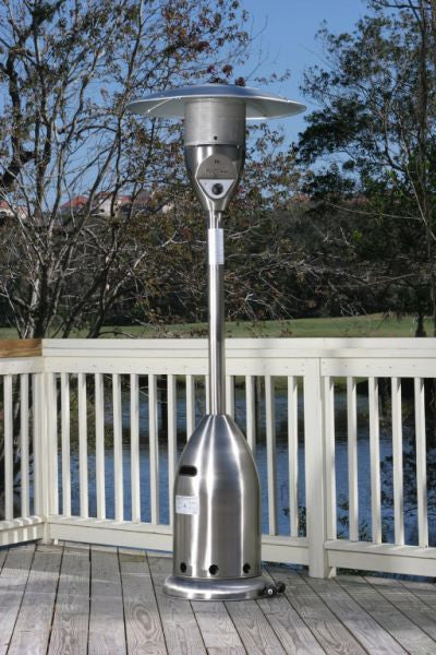 Deluxe Patio Heater - Stainless Steel