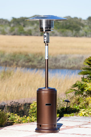 Standard Series Patio Heater - Hammer Tone Bronze