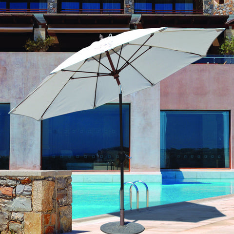 9 Ft Suncrylic Patio Umbrella Manual-Tilt
