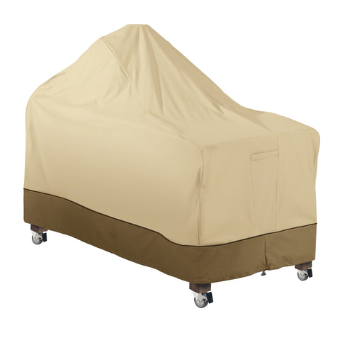 Premium Ceramic Grill with Offset Table Cover - Beige
