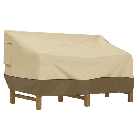 Premium Deep Loveseat/Sofa Cover - Beige