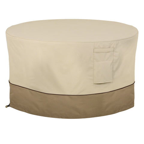 Premium Fire Pit Table Cover - Beige