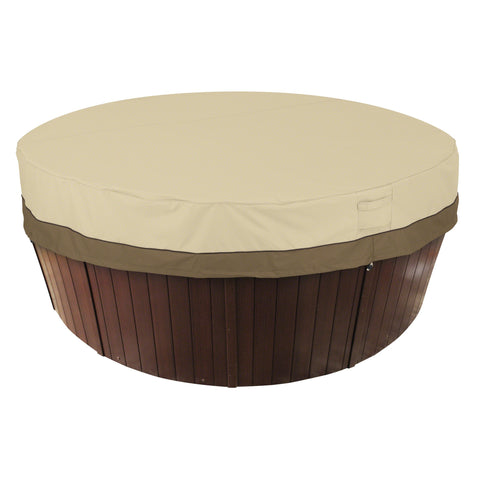 Premium Hot Tub Cover - Beige