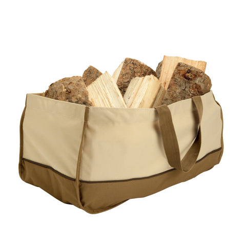 Premium Jumbo Log Carrier - Beige