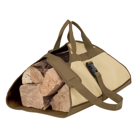 Premium Log Carrier - Beige
