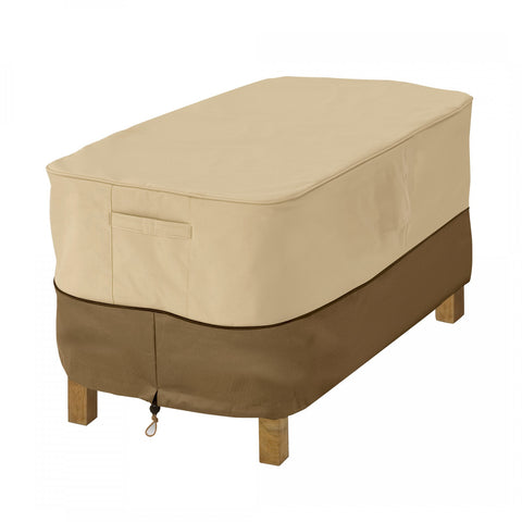 Premium Rectangular Coffee Table Cover - Beige