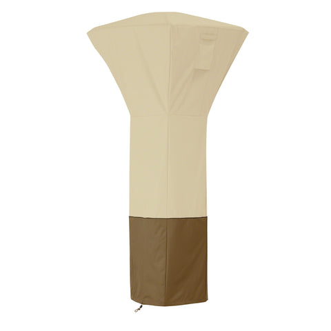 Premium Square Stand-up Patio Heater Cover - Beige