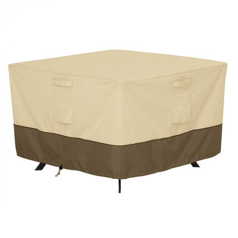 Premium Square Patio Table Cover - Beige