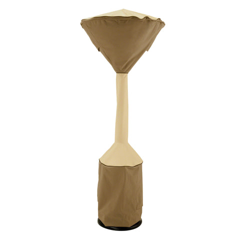 Premium Stand-Up Patio Heater Cover - Beige