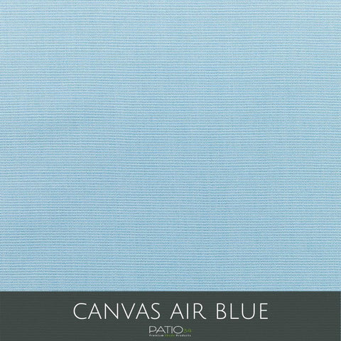 Sunbrella Outdoor Curtain Panel with Nickel Grommets - Canvas Air Blue