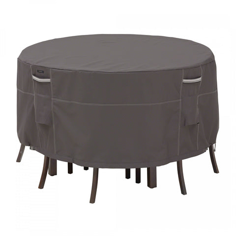 Premium Bistro Table Set Covers - Charcoal