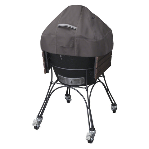 Premium Ceramic Grill Dome Cover - Charcoal