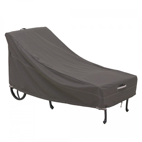 Premium Chaise Cover - Charcoal