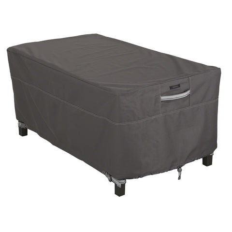 Premium Rectangular Coffee Table Cover - Charcoal