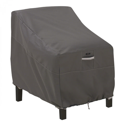 Premium Deep Lounge Patio Chair Cover - Charcoal