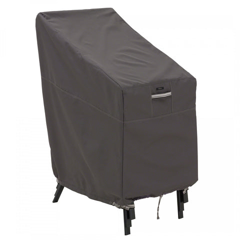 Premium Stackable Chair Cover - Charcoal