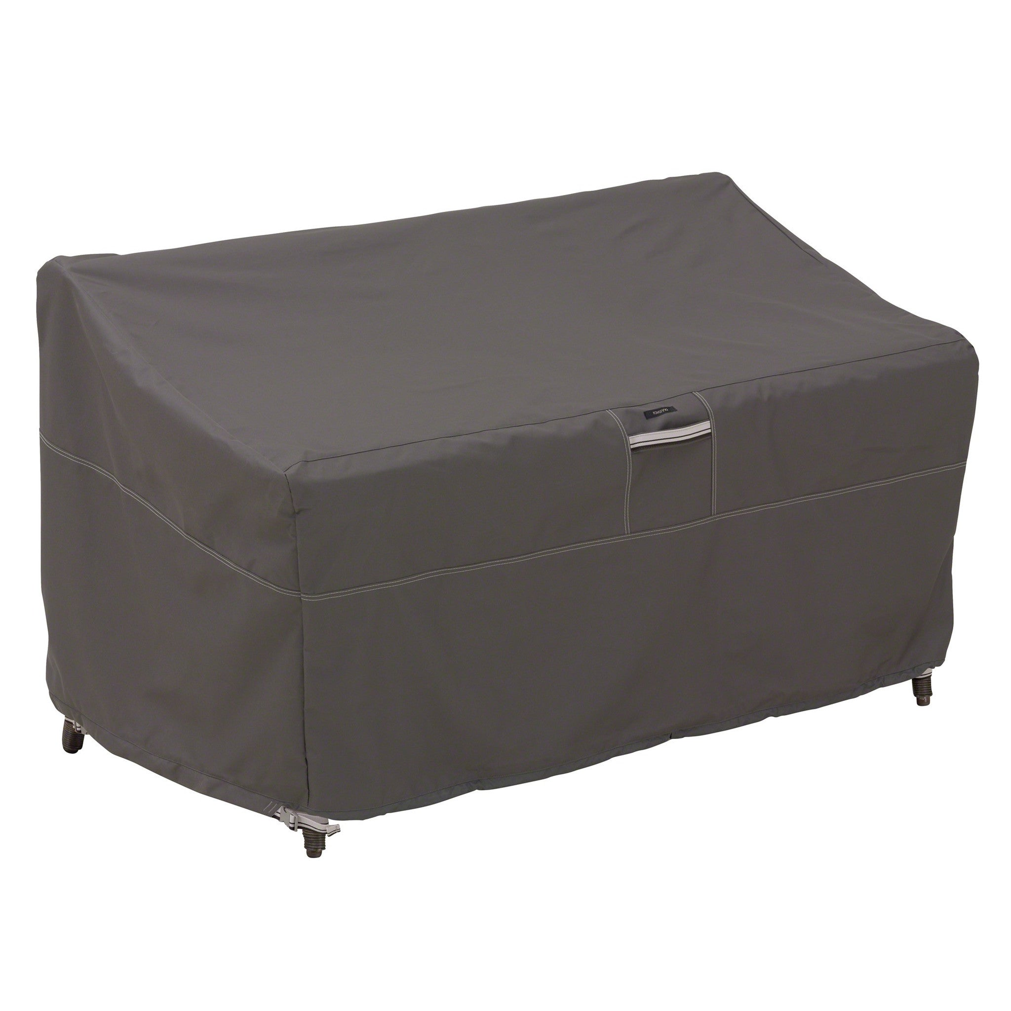 Premium Patio Loveseat And Sofa Covers   Charcoal