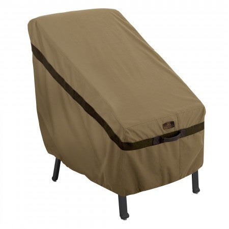 Premium High Back Chair Cover - Sand