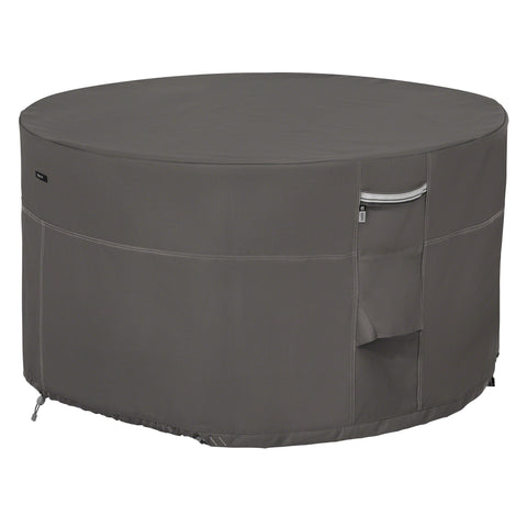 Premium Fire Pit Table Cover - Charcoal