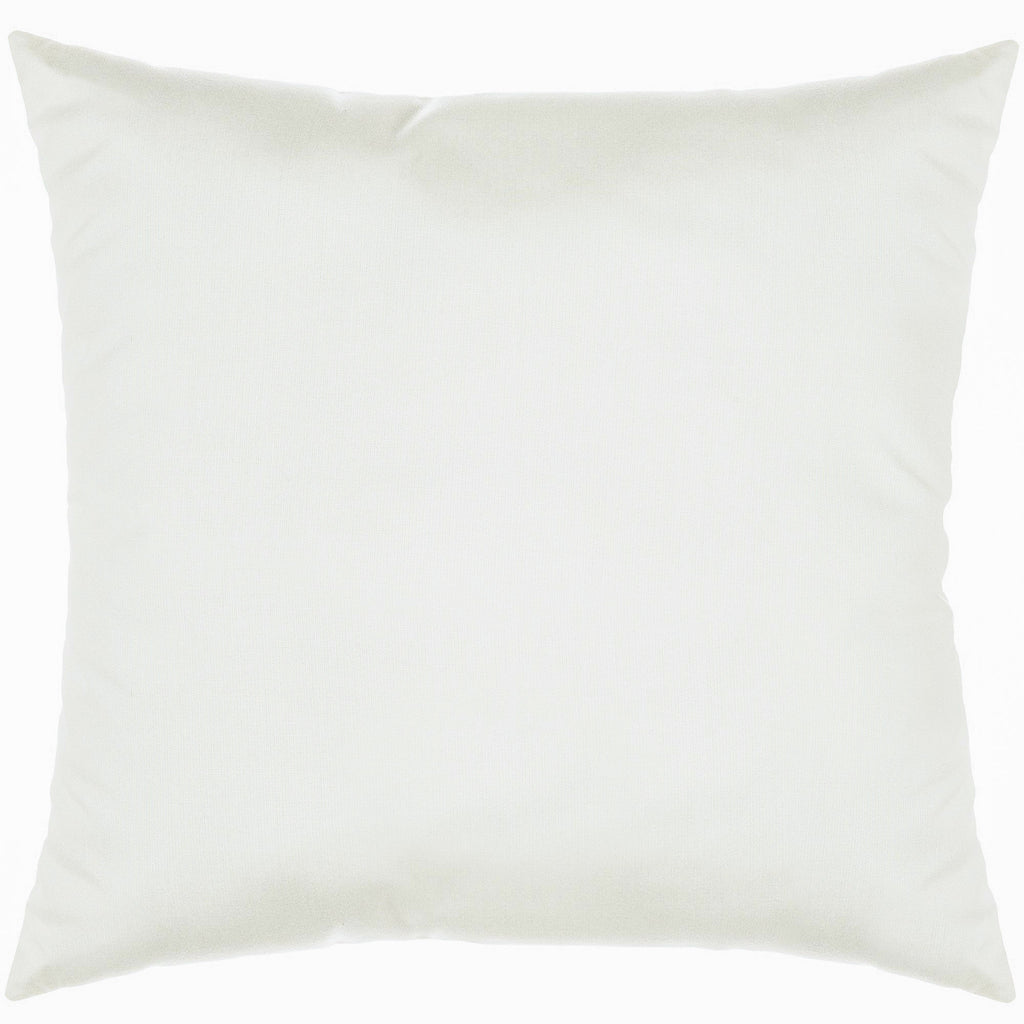 "Sunbrella Outdoor Throw Pillow 18"" x 18"" - Spectrum Eggshell"