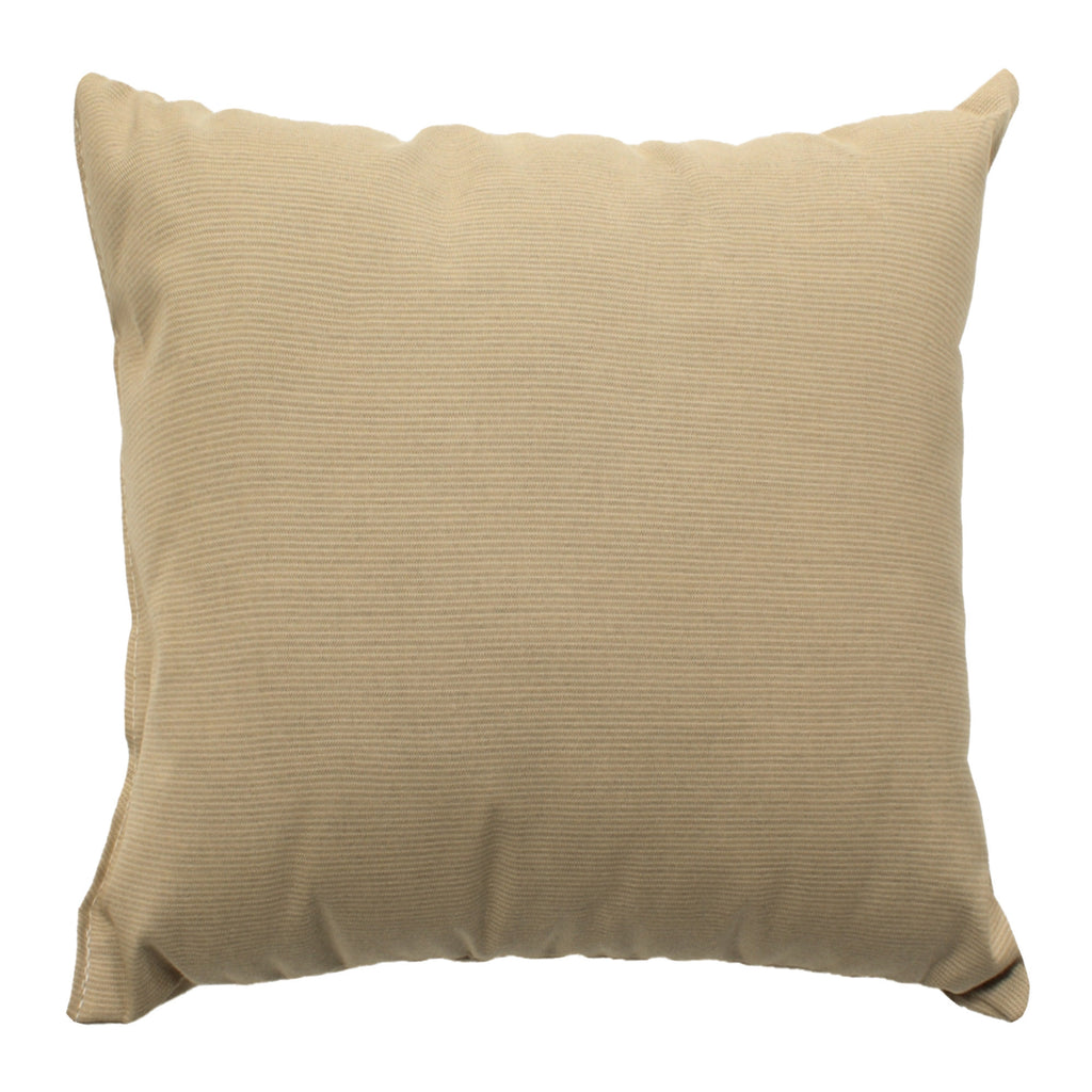 "Sunbrella Outdoor Throw Pillow 18"" x 18"" - Spectrum Sand"