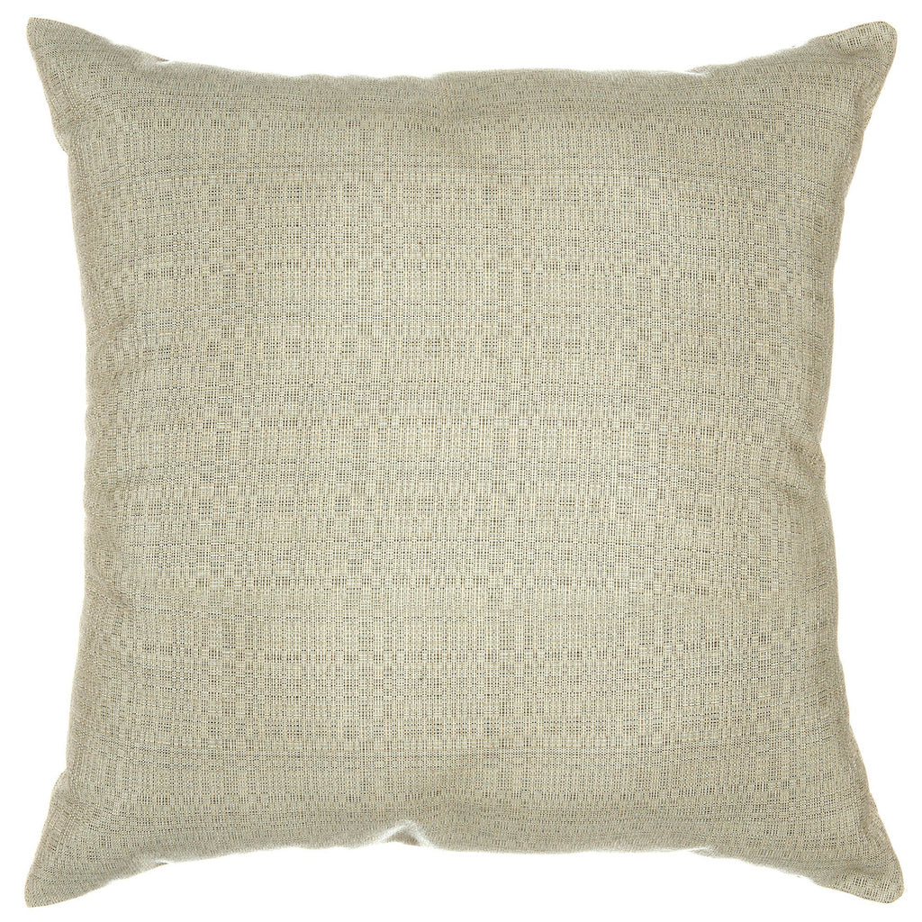 "Sunbrella Outdoor Throw Pillow 24"" x 24"" - Linen Silver"